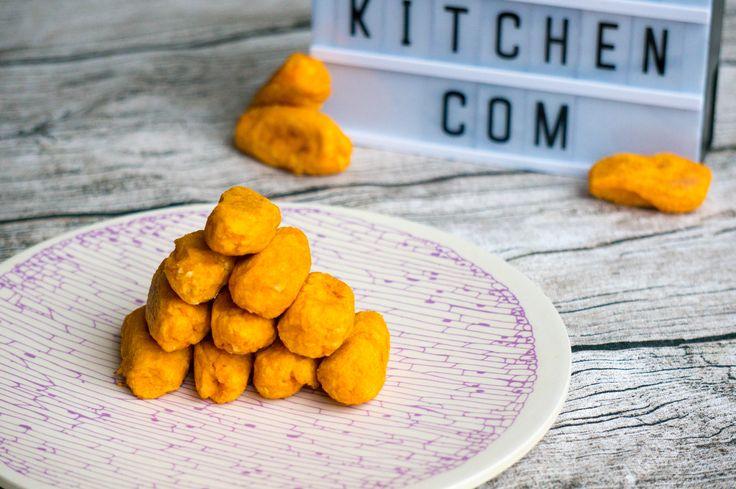 Bij een kroket denk je niet aan gezond. Deze zoete aardappel kroketjes uit de oven zijn dat absoluut. Kinderen eten het zo uit hun vuistje.