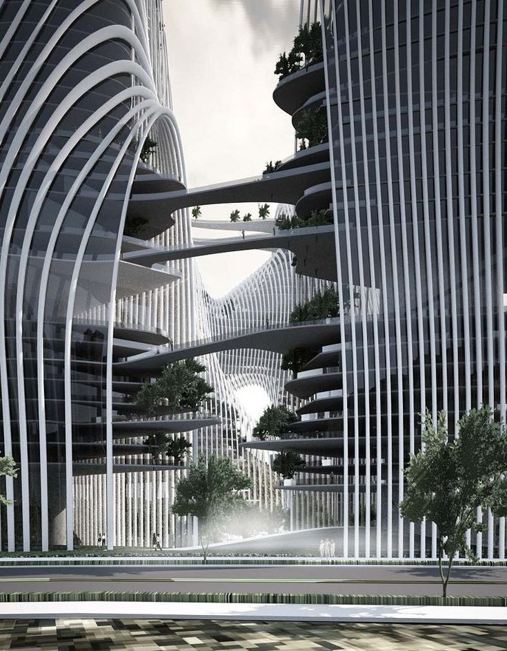 Shan-Shui City (China) - Ma Yansong of MAD Architects. Architecture. Modern architecture from leading top architects