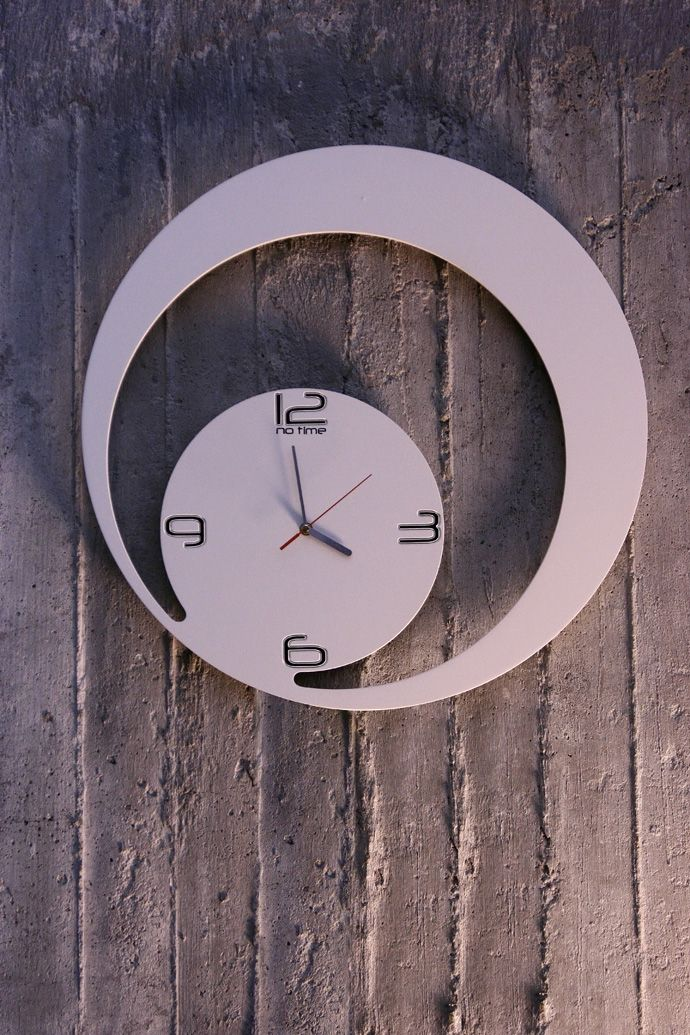 Charming New Clock Design By Dana And Vlad Bostina From ArhiDOT Photo Gallery