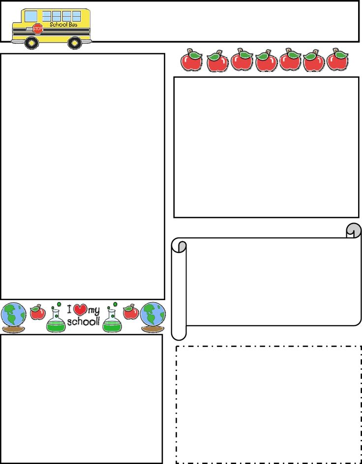 school newsletter templates concepciontarlacph - school newsletter templates