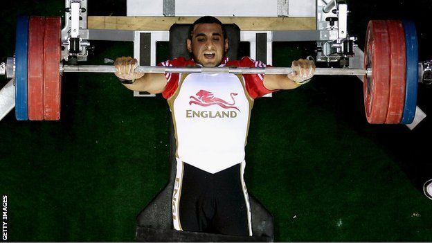 British Paralympic powerlifter Ali Jawad won gold at the Asian Open Championships with a world-record lift. The 24-year-old Londoner lifted 185.5kg - more than three times his bodyweight - in the -59kg class in Malaysia to beat the previous best mark by 10.5kg.