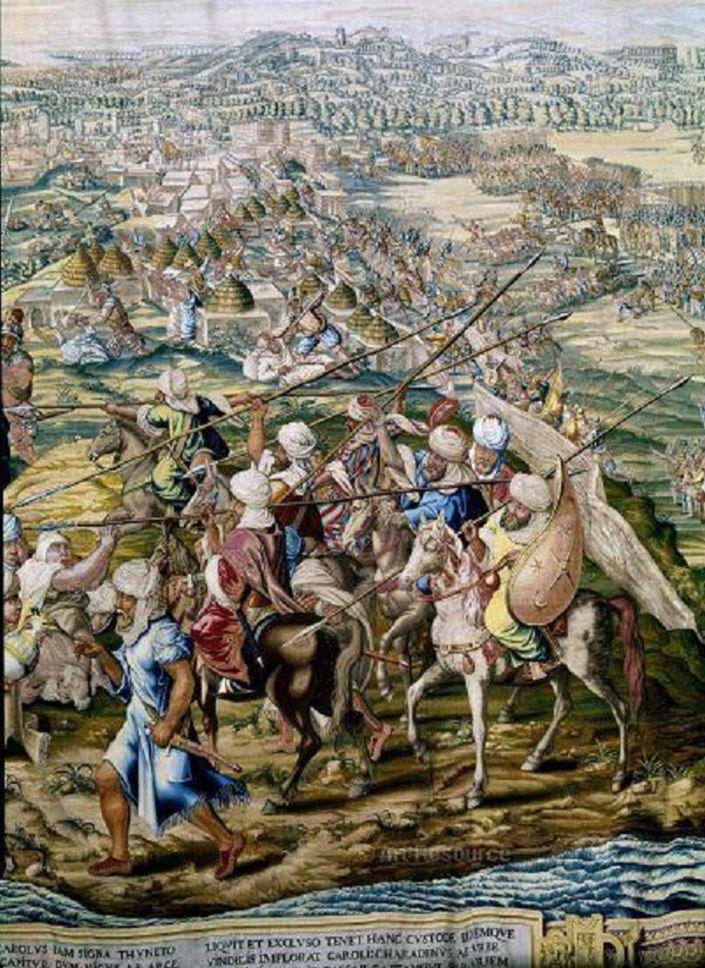 La bataille de Tunis est le nom d'une bataille ayant lieu en 1535 entre les troupes l'amiral ottoman Khayr ad-Din Barberousse le gouverneur d'Alger et les troupes de l'empereur espagnol Charles Quint. Elle se solde par l'occupation espagnole de Tunis qui durera jusqu'en 1574.