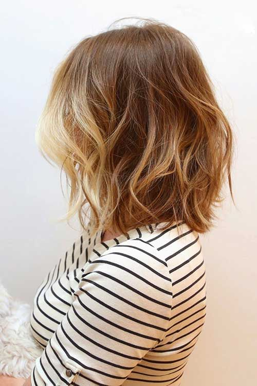 Balyage with Ombre Bob