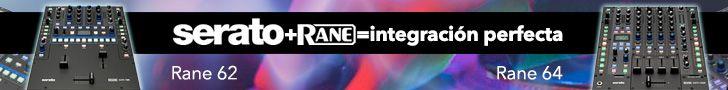 Banner promocional. RANE + SERATO. ZentralMedia