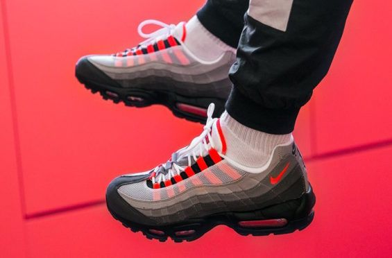 a8028facd9985 Release Reminder  Nike Air Max 95 Solar Red - Dr Wong - Emporium of Tings.  Web Magazine.