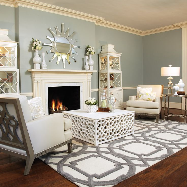 Love the rugDecor, Wall Colors, Ideas, Coffee Tables, Living Rooms, Livingroom, Paint Colors, Rugs, Global View