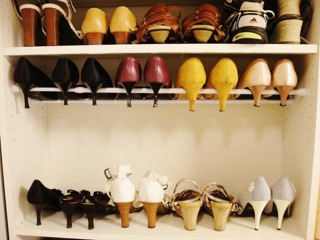 これで下駄箱すっきり!2倍以上置ける靴の収納アイデア術 - M3Q - 女性のためのキュレーションメディア