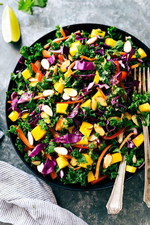 Remixed Orange Ginger Kale Salad