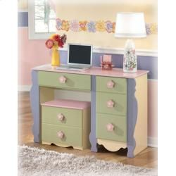 Doll House Youth Desk/Rolling Box By Signature Design By Ashley