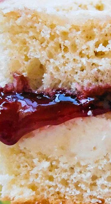 Raspberry Layered Coffee Cake Recipe