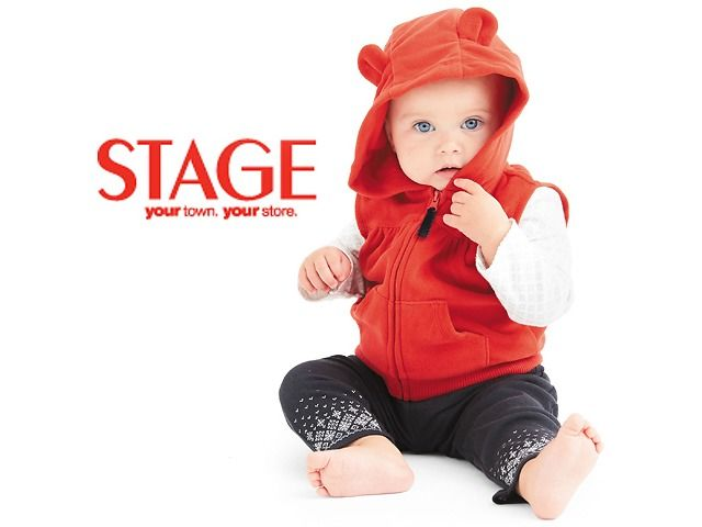 Stage | Select Carter's Baby Apparel from $5 $4.99 (stagestores.com)