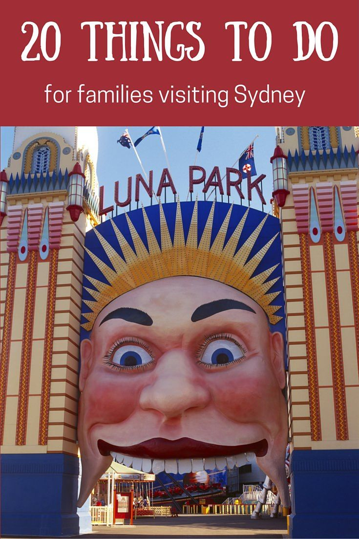 Families planning a visit to Sydney will love this handy post listing all the best places to go and things to see when you come. It's been written by lots of Sydney families especially for you!