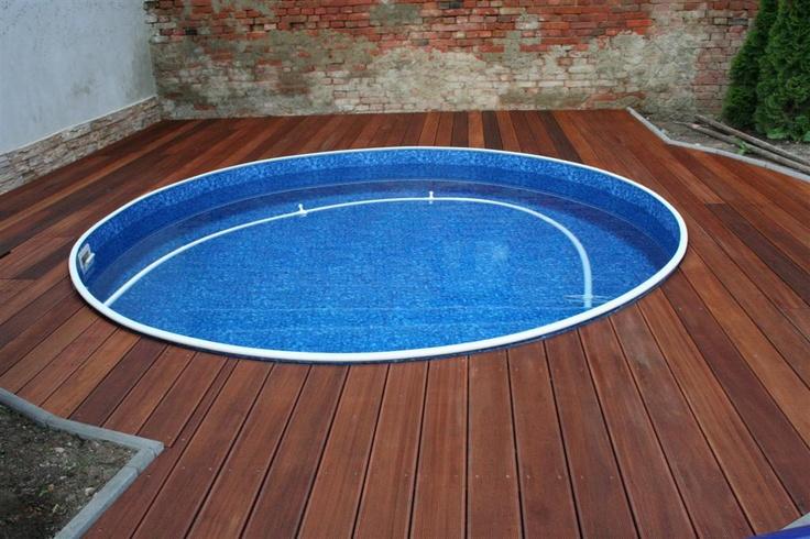 Terasa - kulatý bazén