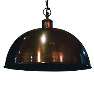 Superb 18 Inch Luna Pendant Lamp, Dark Bronze