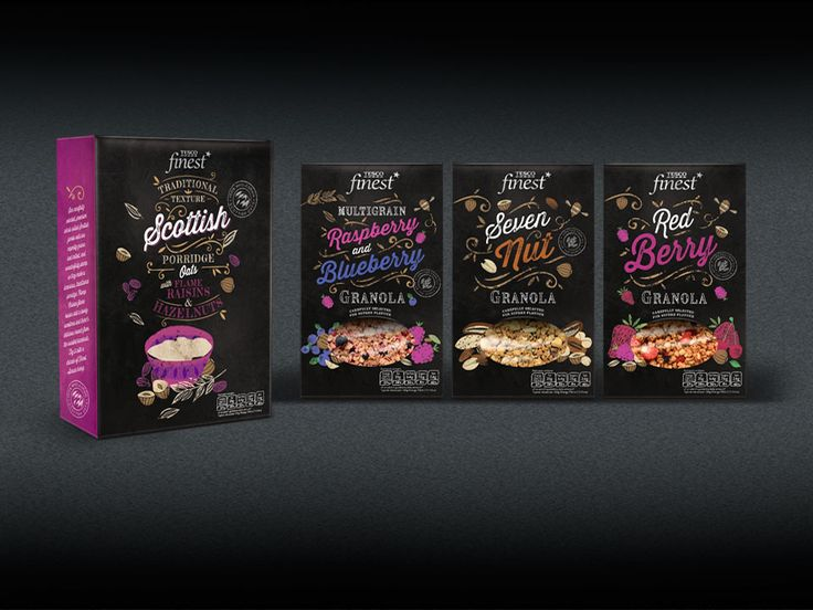 Pemberton & Whitefoord (P&W) – London NW1, UK | TESCO Finest* packaging design evolution