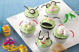 Petits gâteaux « attaque des Martiens »