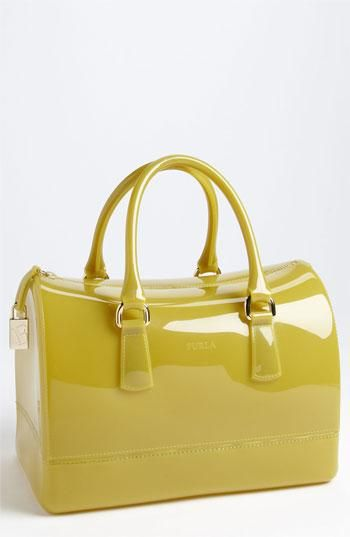 Love this fun satchel by Furla!