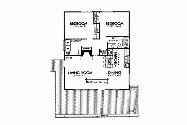 Two Bedroom Cabin HWBDO72605 Cabin From