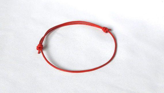 KABBALE bracelet bouddhiste rouge bracelet par FlowerStyleUa