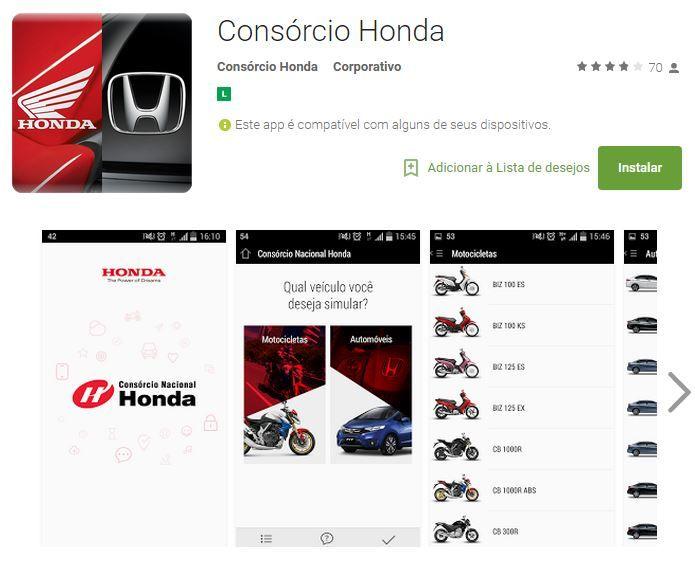 Ficou ainda mais prático adquirir uma motocicleta ou automóvel Honda. A empresa lançou o aplicativo Consórcio Honda. Disponível para download no Google Play e Apple Store, a ferramenta permite que ...