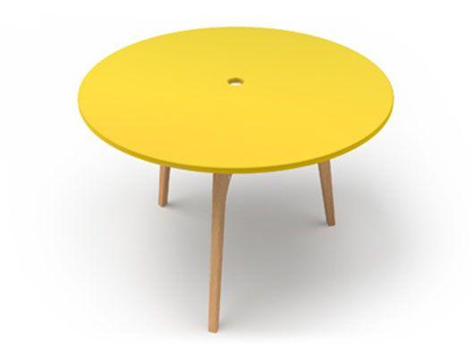 Splice Table Yellow