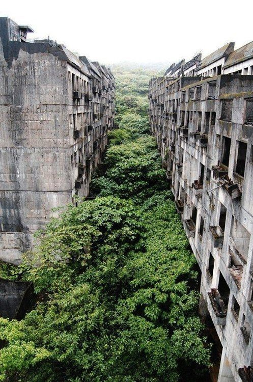 Abandoned city of Keelung,Taiwan