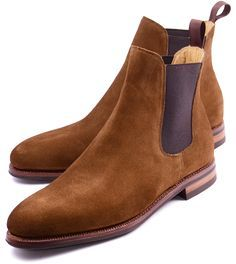 Meermin Mallorca Suede Chelsea Boots | Handmade Goodyear Shoes