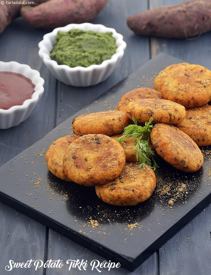 Sweet Potato Tikki Recipe Shakarkand Tikki How To Make Shakarkand Ki Tikki Recipe Sweet Potato Recipe Indian Sweet Potato Recipes Healthy Sweet Potato Recipes