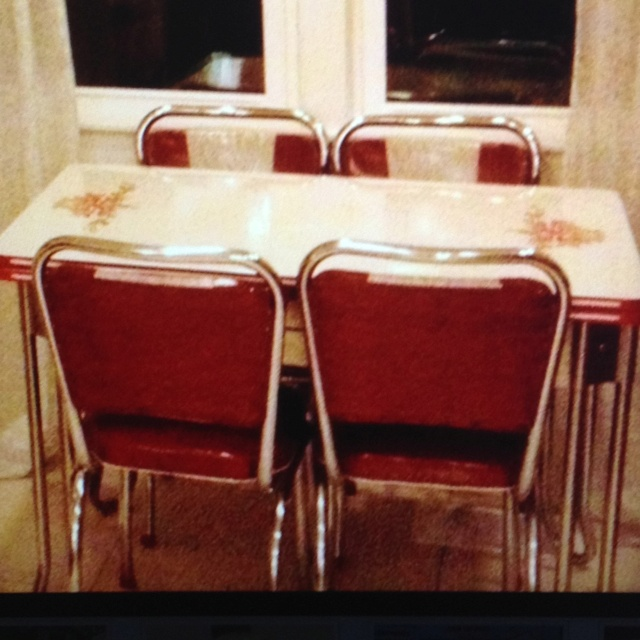 best Vintage enamel kitchen tables  on Pinterest