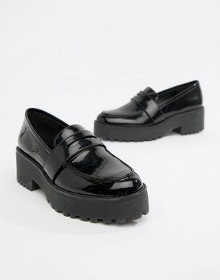 571db6ca8d3 Monki chunky loafer in Black