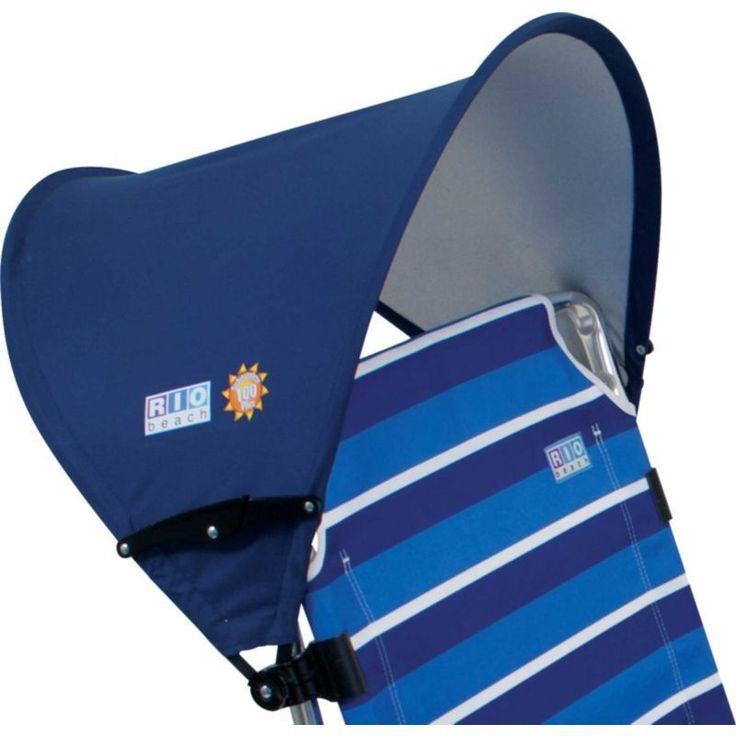 RIO MyCanopy Beach Chair Accessory, Blue