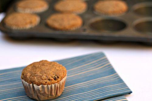 Muffins integrales: Mantequilla con azúcar
