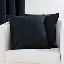 Solar Black Cushion Cover