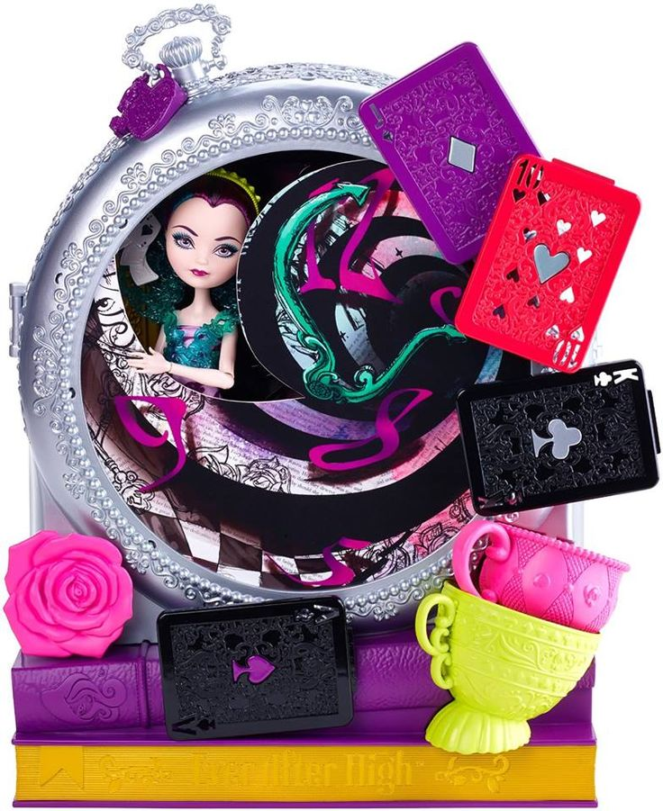 Raven Queen Way Too Wonderland Ever After High Doll and Playset, 2015 (I bought this set from Hobby Warehouse on Walmart.com for $30)