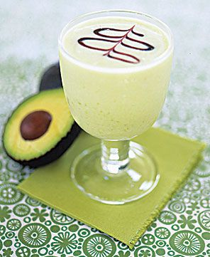 An avocado daiquiri, hmmmm, i'll have to give that a try.