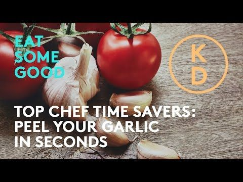 HOW TO Peel Garlic Quickly! The Drake Hotel's Ted Corrado Shows Kim D'Eon A Top Chef Time Saver - YouTube