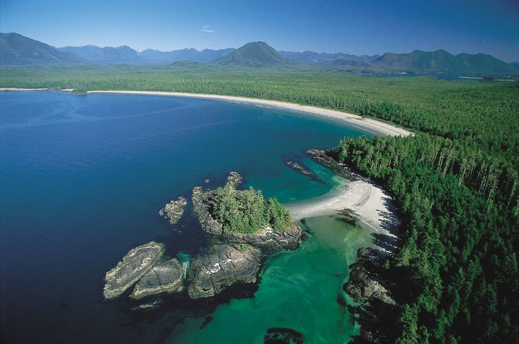 View from Clayoquot Wilderness Resort (Tofino, British Columbia, The Islands)