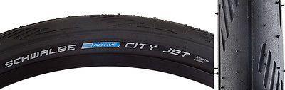 Schwalbe City Jet Tire Schwalbe City Jet K-guard 26x1.5 Bk/bsk/ref Wire