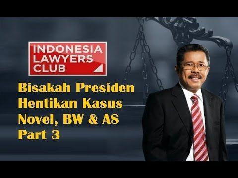 ILC 11 Februari 2016 Bisakah Presiden Hentikan Kasus Novel, BW & AS Part 3