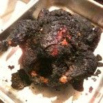 Burnt chicken = breakdown?