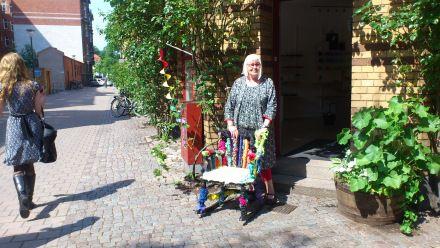 Maria utanför Filialen, Malmö