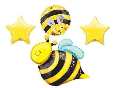 Bumble Bee Birthday Party Supplies Decorations Balloons