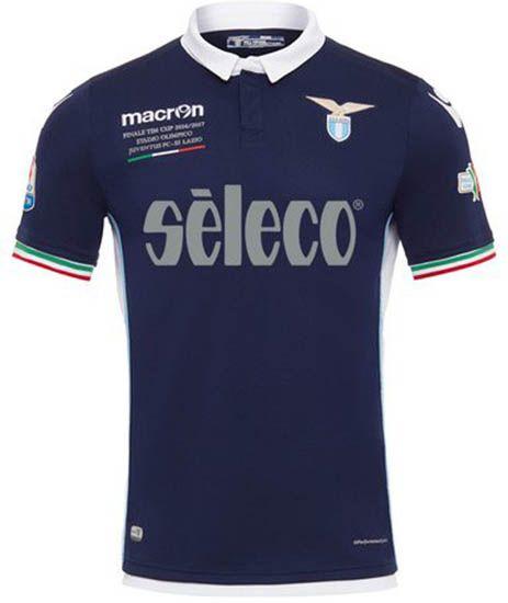 Special Lazio 2017 Coppa Italia Kit Released - Footy Headlines