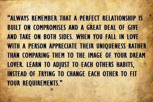 communication and compromise in a relationship