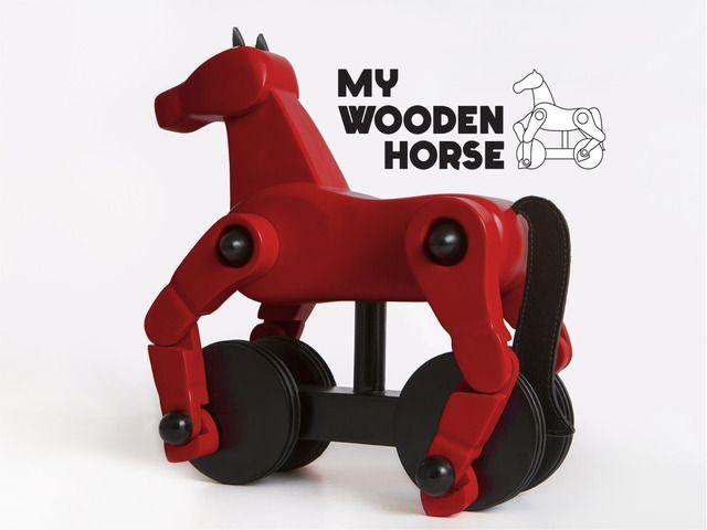 My Wooden Horse on Kickstarter. I love it! https://www.kickstarter.com/projects/netta/my-wooden-horse