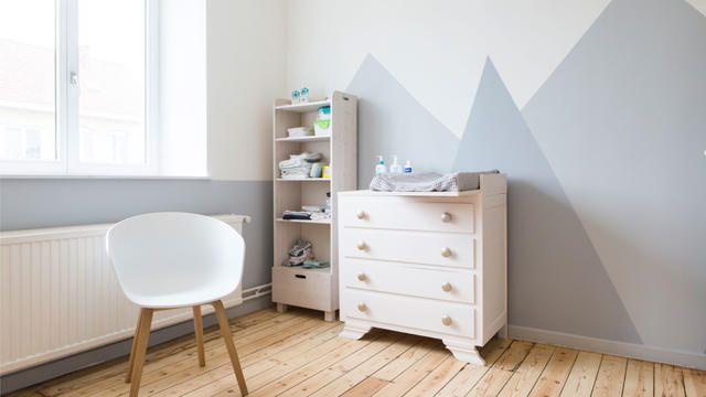 Kinderkamer grijze kleuren