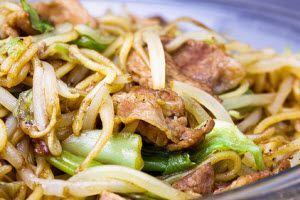 Elaboracion de la receta Yakisoba - #noodles #yakisoba
