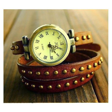Triple wrap leather band