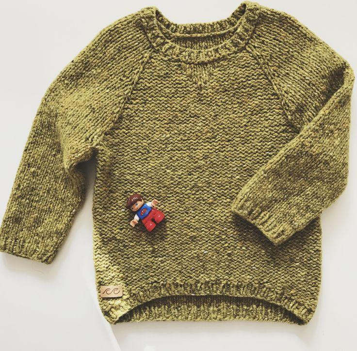 Kids knitted sweatshirt