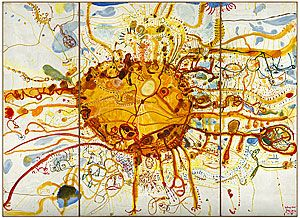 A piece from one of my art heroes ! John Olsen